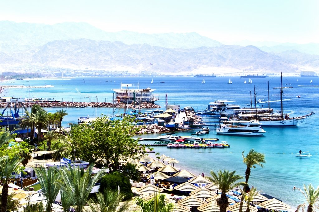 Gulf of Aqaba (source: Shutterstock)