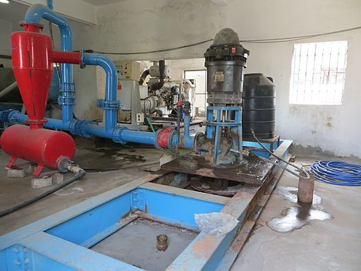 Water Authority wastewater treatment facility- Gaza. By Muhammad Sabah, B'Tselem.