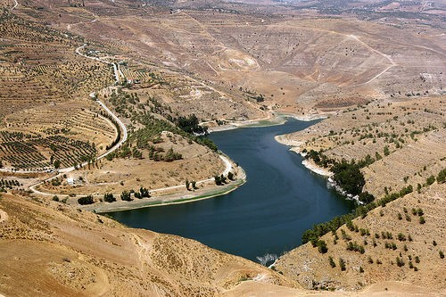 The King Talal Dam, Jordan. Photo: Nick Fraser.