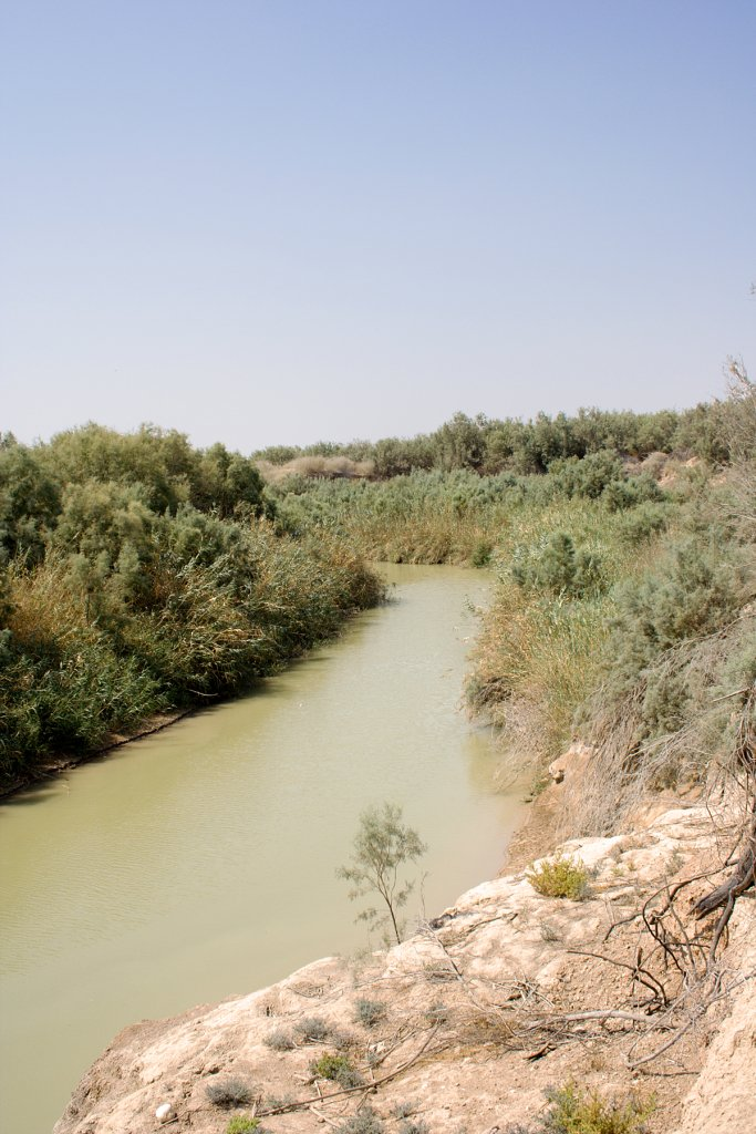 The Lower Jordan River. Photo: David Bjorgen.