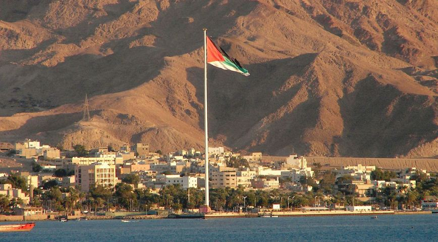 The city of Aqaba on the Red Sea. Photo: Aviad2001