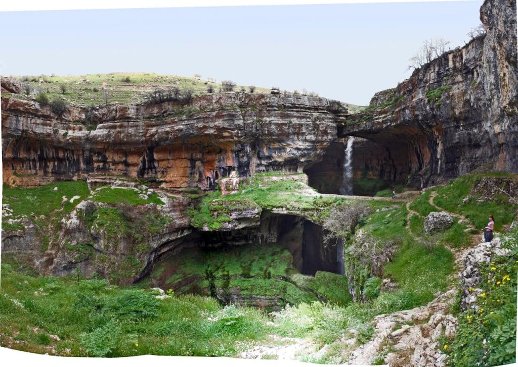 Tannourine Falls, Lebanon. Photo: Rabih.