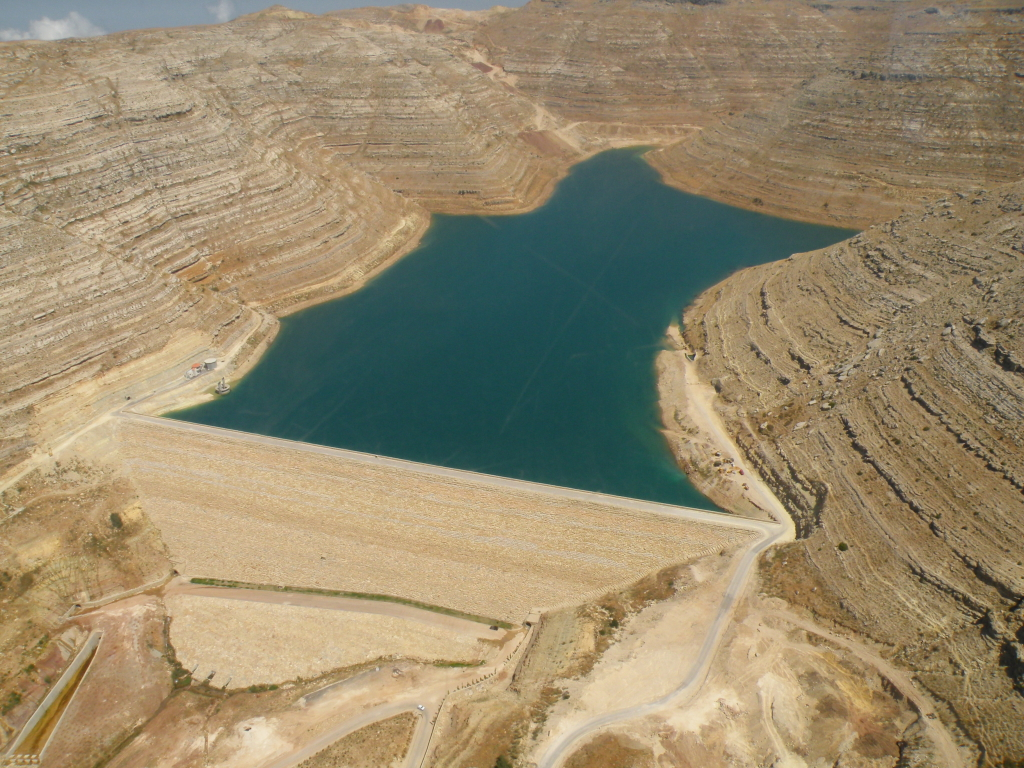 The Chabrouh Dam, Lebanon. Photo: Joelle Comair.