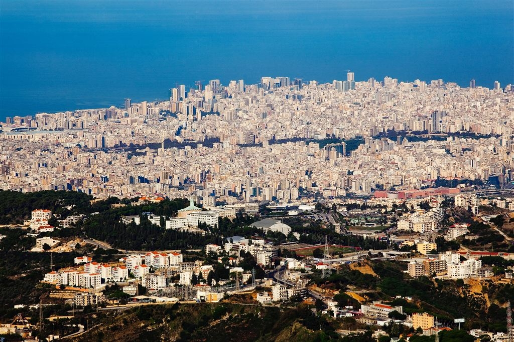 View of the Lebanese capital Beirut. Photo: VAO/V. Undritz.