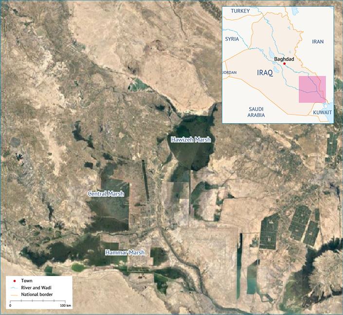 Iraqi Marshes الأهوار العراقية أهوار العراق