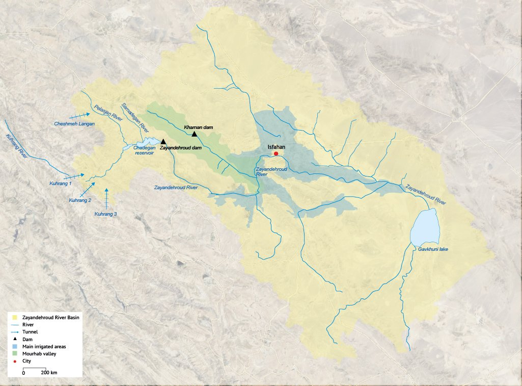Zayandehroud River Basin