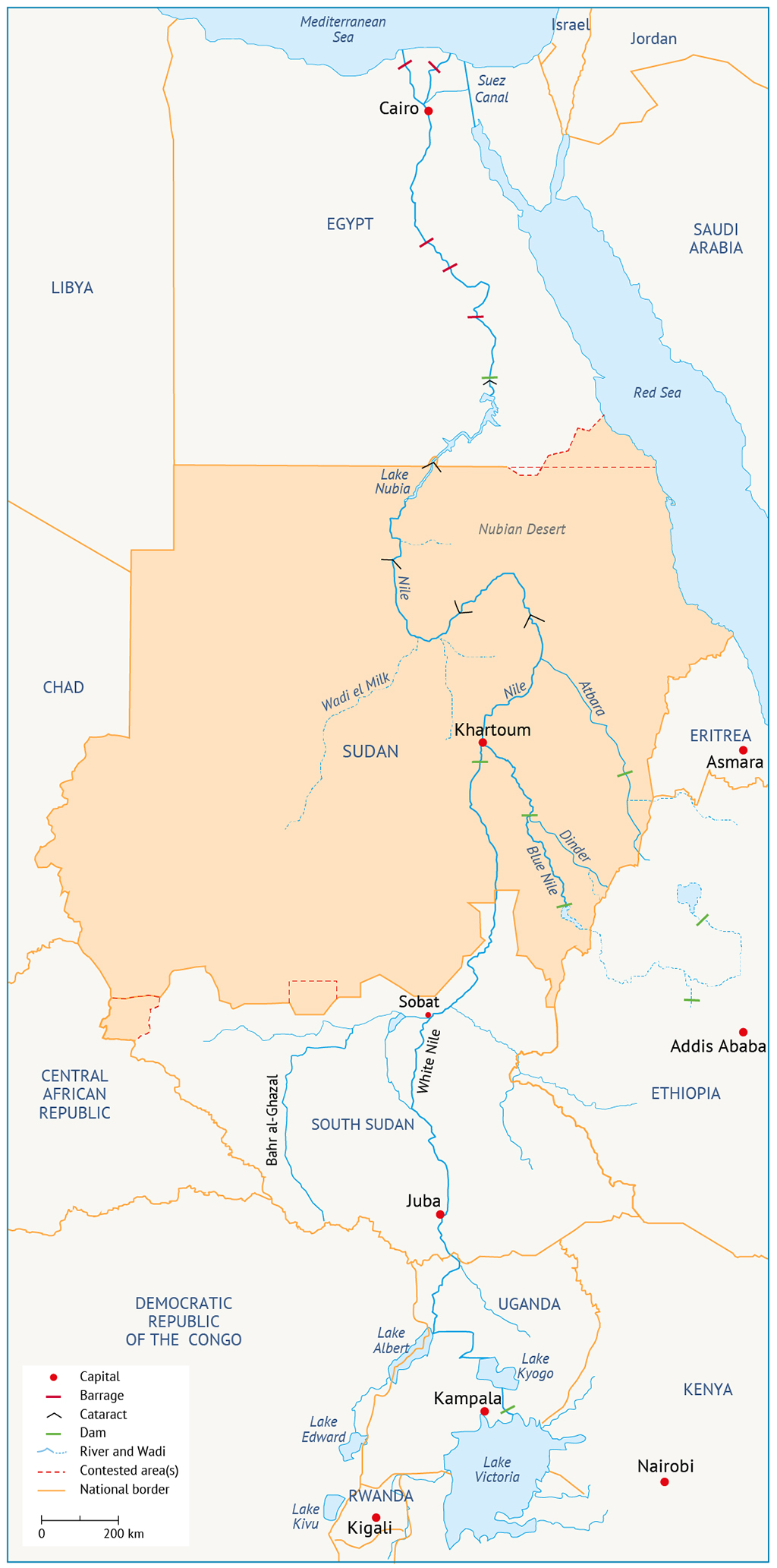 River Nile Basin Water resources in Sudan