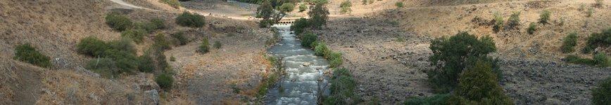 The Jordan River. Photo: Magnus Manske.