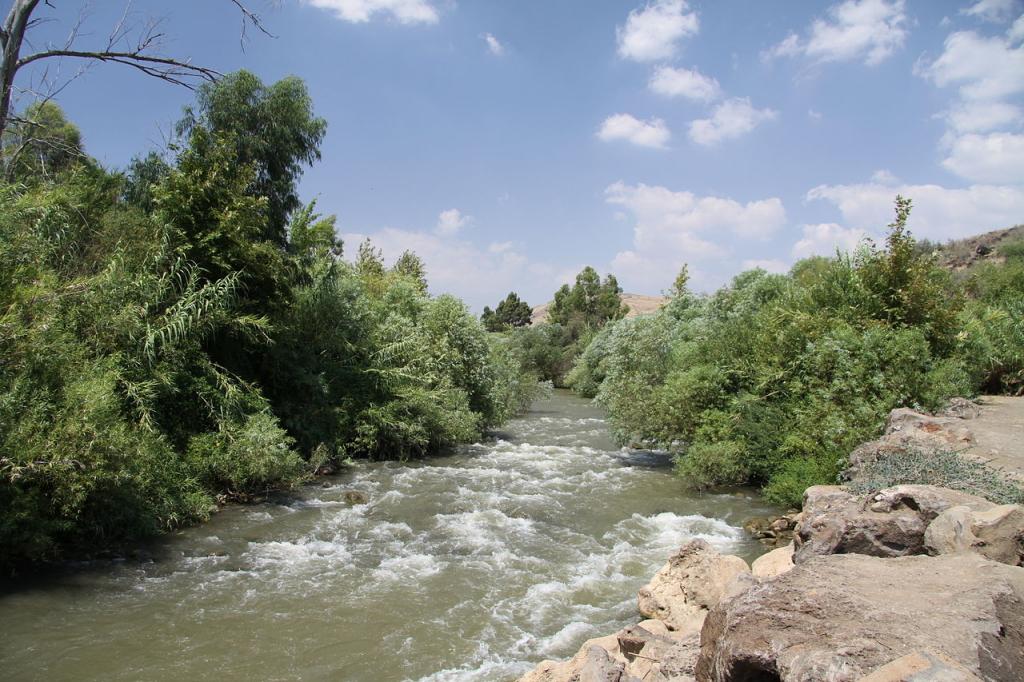 The Jordan River. Photo: Petr Broz.