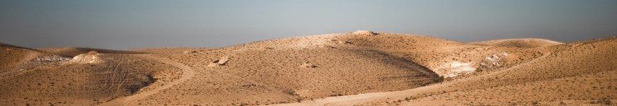 The Negev Desert. Photo: Or Hiltch.