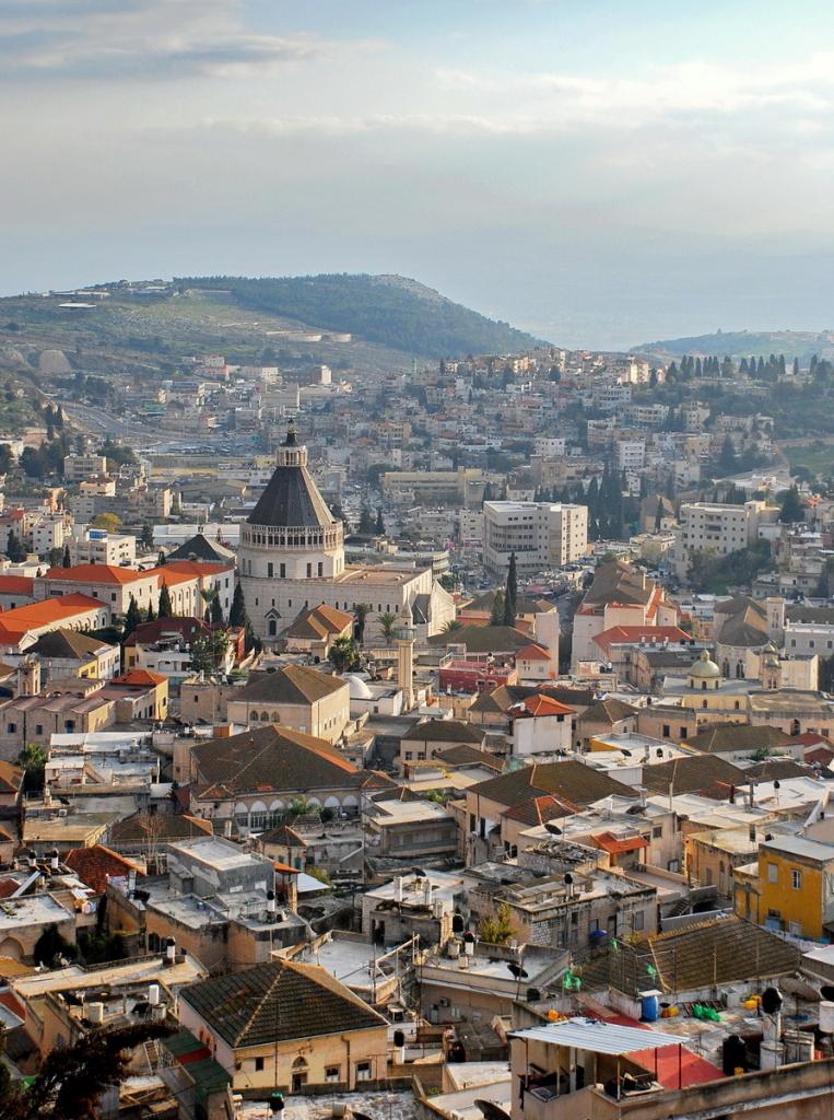 Cityscape of Market Neighborhood in Old Nazareth. Photo: Osama Damon.