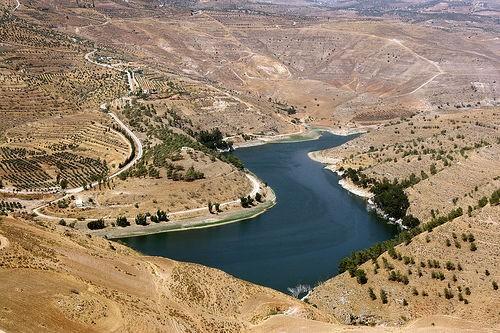 The King Talal Dam, Jordan. Photo: Nick Fraser.