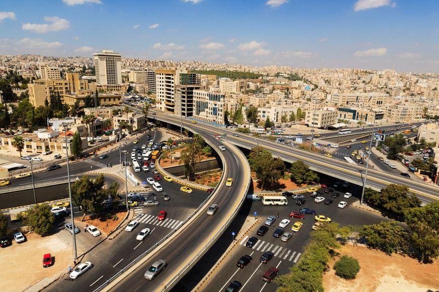 View of Amman. Photo: Tariq Ibrahim AbdulHadi.