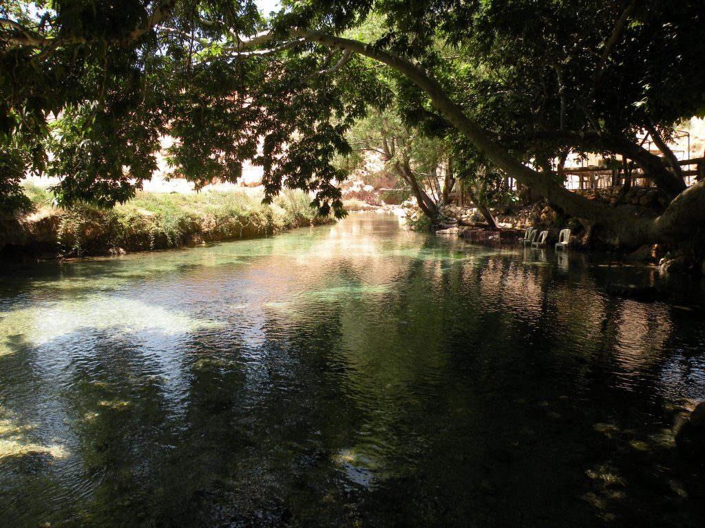 The Orontes River in Lebanon. Photo: Joelle Comair. الموارد المائية في لبنان
