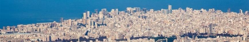 View of the Lebanese capital Beirut. Photo: VAO/V. Undritz.