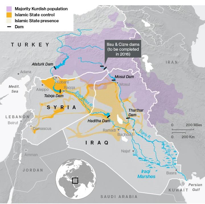 المياه العبرة للحدود في تركيا