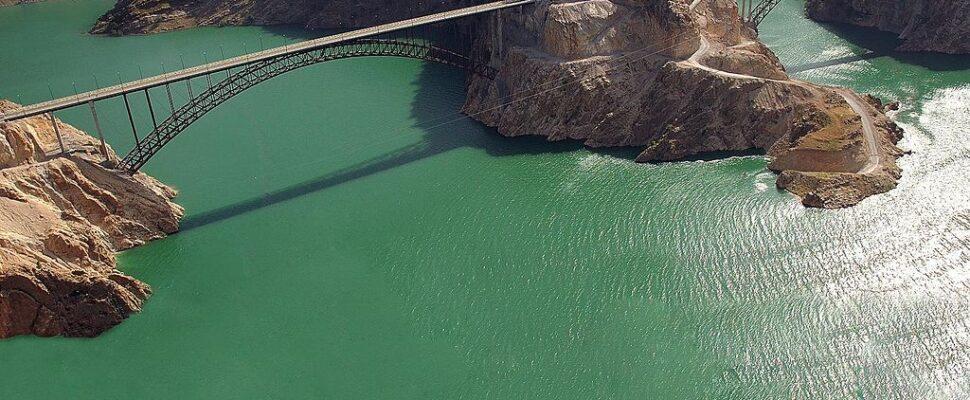جسر سد كارون 3 الموارد المائية في إيران