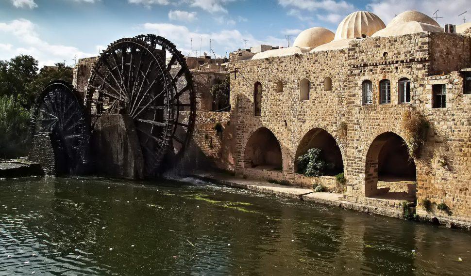 حوض نهر العاصي، حماه، سوريا