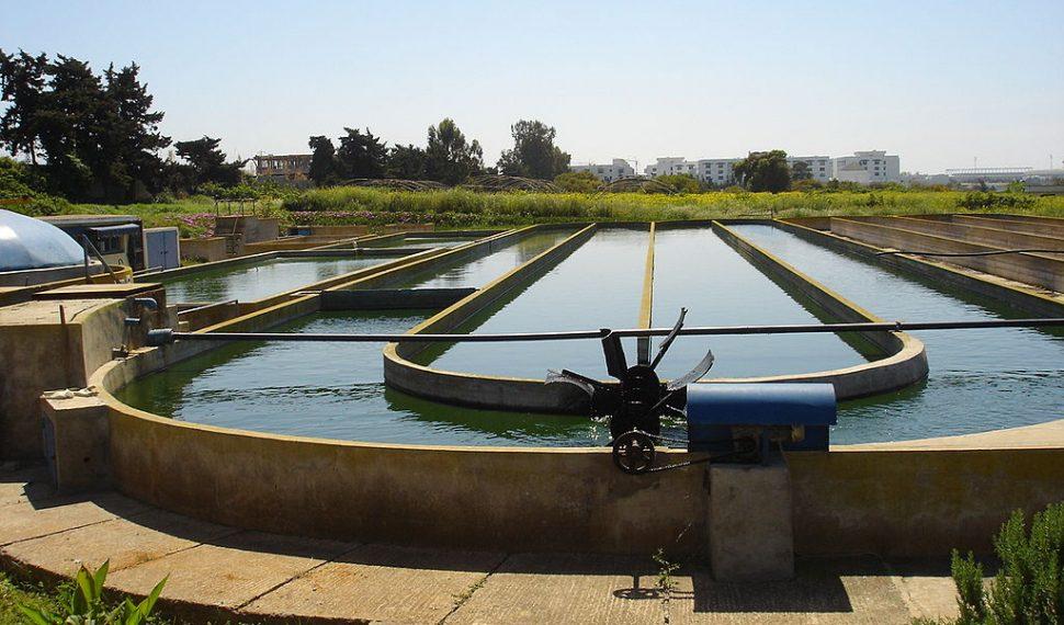 محطة لمعالجة مياه الصرف الصحي تحديات
