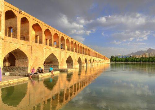 نهر زاينده رود، إيران