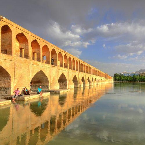 Zayandehroud River, Iran