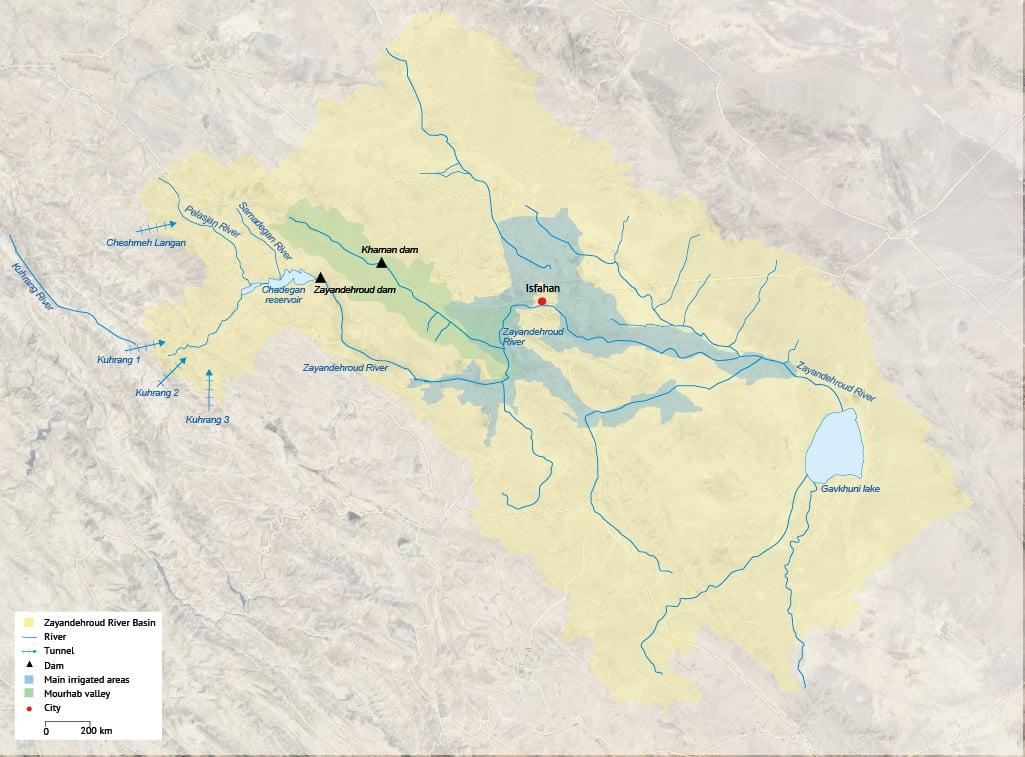 Zayandehroud River Basin