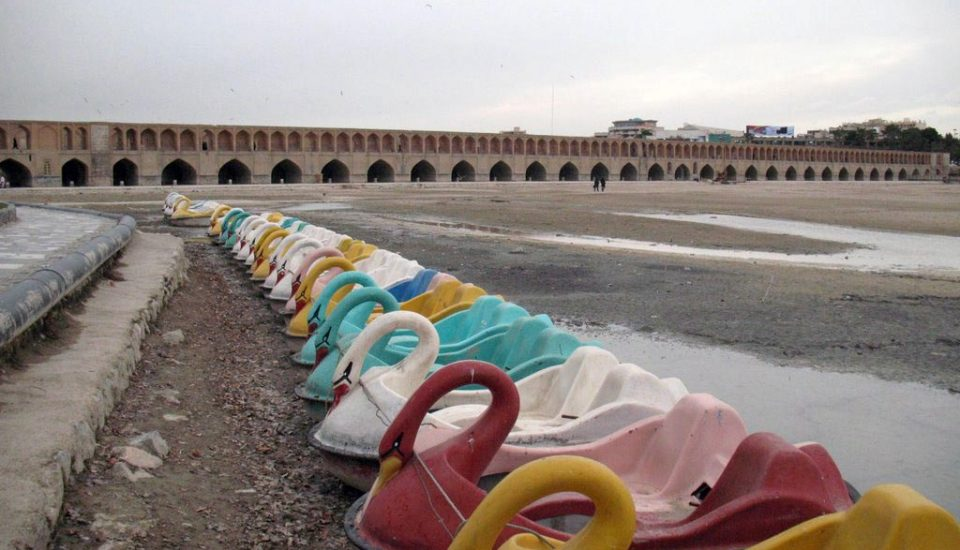Zayandehroud river