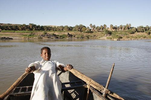 نهر النيل المياه في السودان
