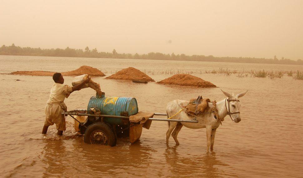 جودة المياه في السودان