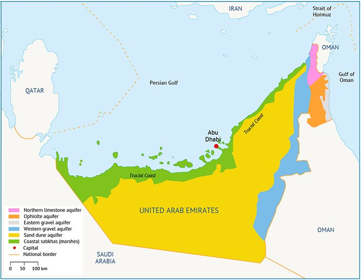 water resources in uae fanack water