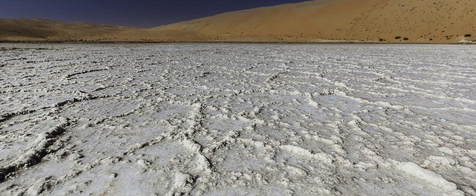 جودة المياه في الإمارات العربية المتحدةUAE- Liwa Desert water quality in UAE