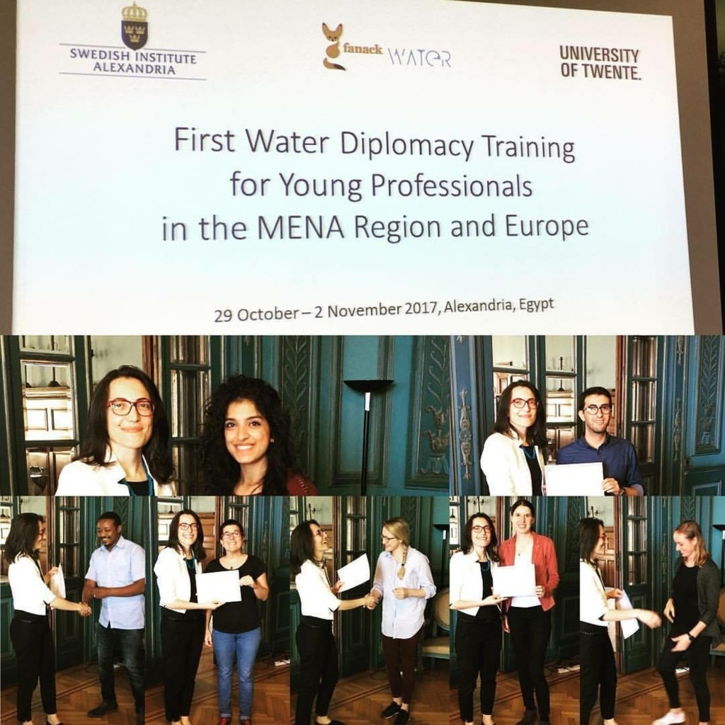 First Water Diplomacy Training Programme for Young Professionals