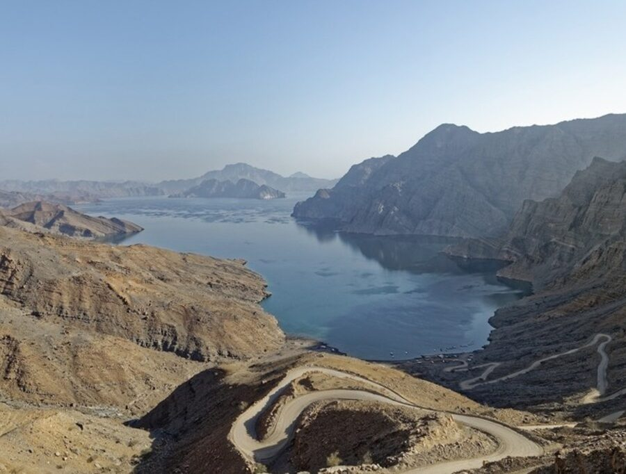 Musan Dam in Oman