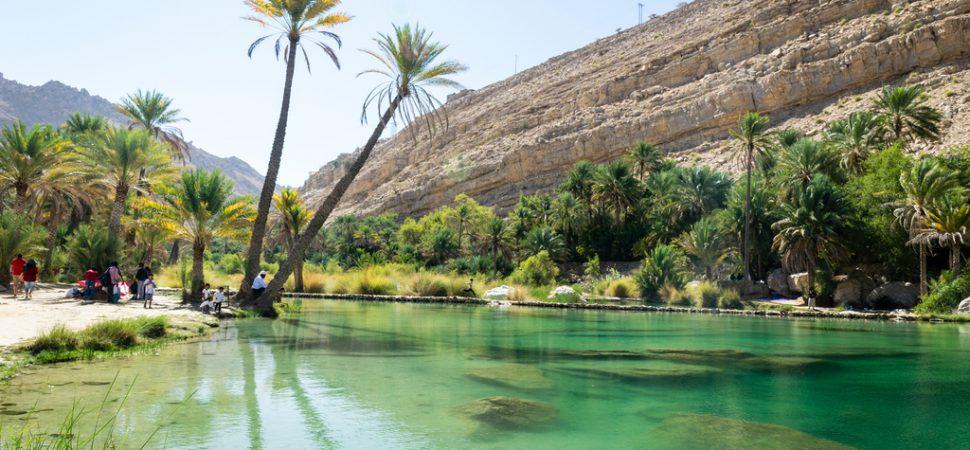 Oman- Wadi Bani Khalid