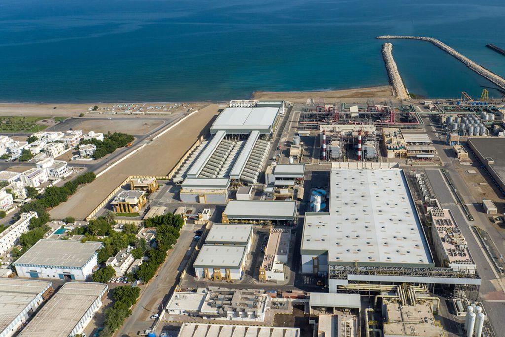 Muscat's Ghubrah desalination plant