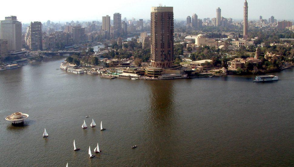 الصورة 1: القاهرة عاصمة مصر، تقع على نهر النيل. (المصدر: Flickr, i- Globe)