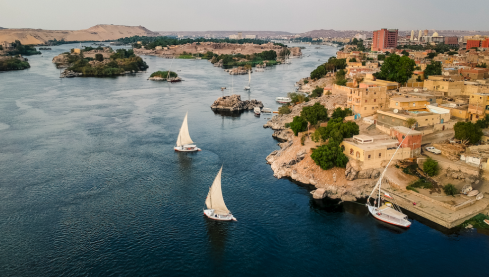 الصورة 1: نهر النيل، مصر. (المصدر: Flickr, Roderick Eime)