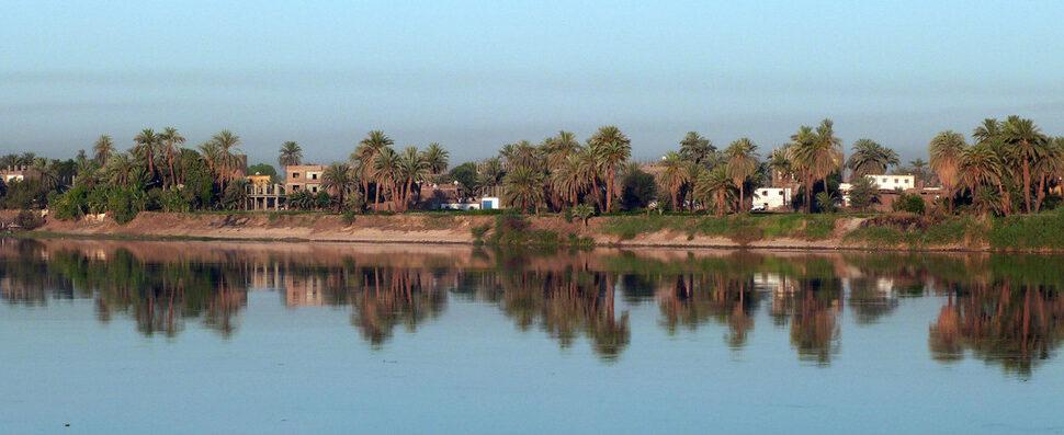 الصورة 1: على طول نهر النيل في مصر.(المصدر: Flickr, d.traveller)