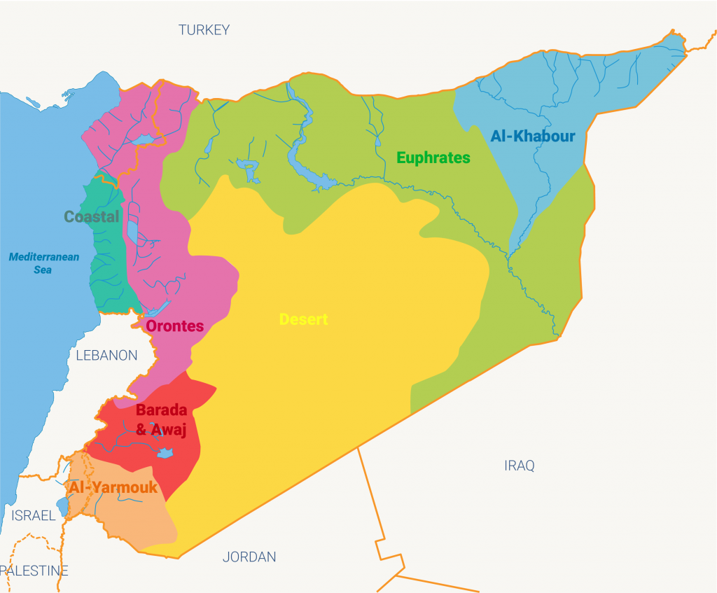 Water Resources in Syria - Fanack Water