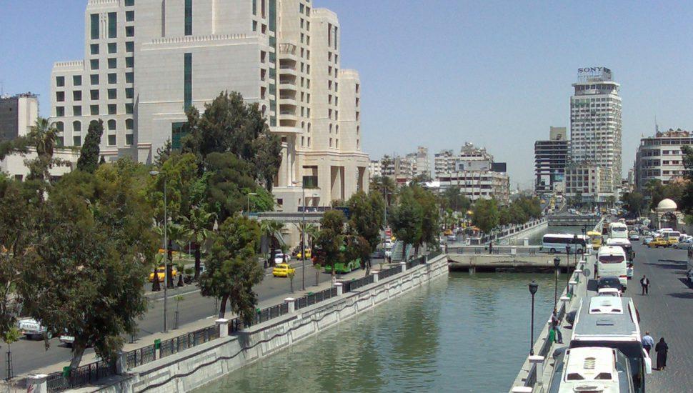 الصورة 1: نهر بردى ، دمشق ، سوريا. (المصدر: Shadi Hijazi, Flickr)