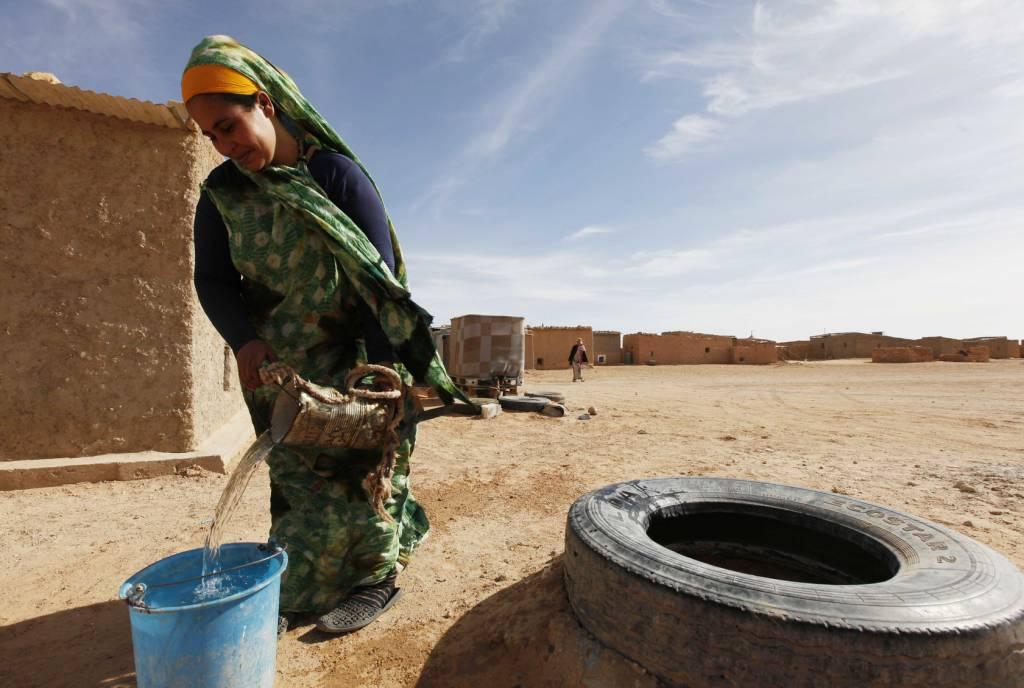 مخيمات تندوف استهلاك المياه في الجزائر