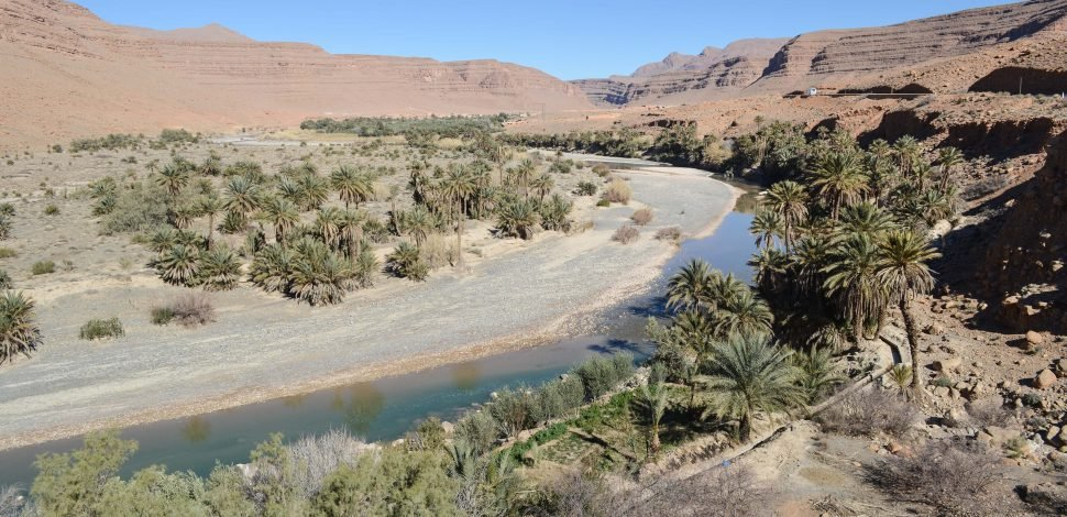 Shared water resources in Morocco