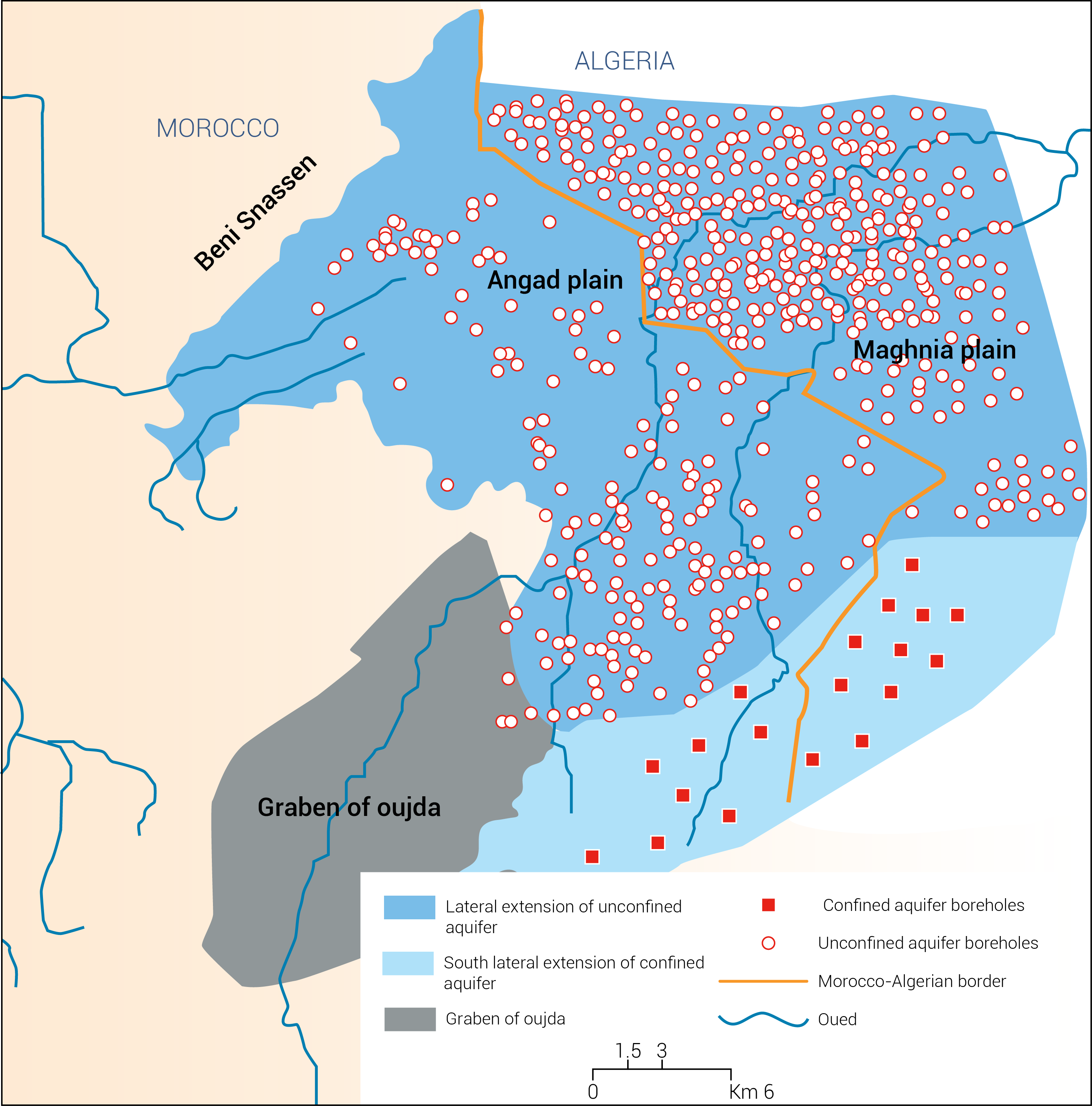 Transboundary aquifers of the Bounaim-Tafna basin Shared water resources in Morocco