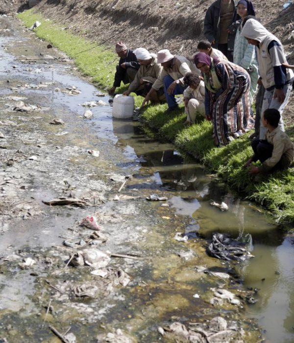 تلوث النيل