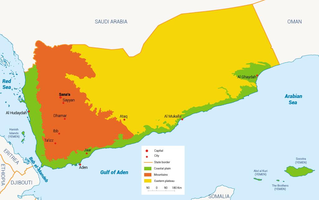 Environmental regions of Yemen