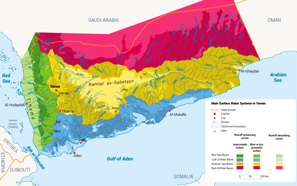 Groundwater yemen water resources in Yemen