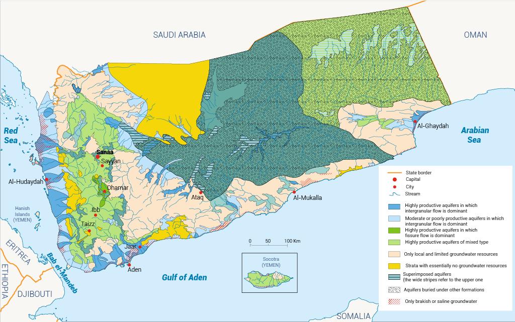 aquifers yemen
