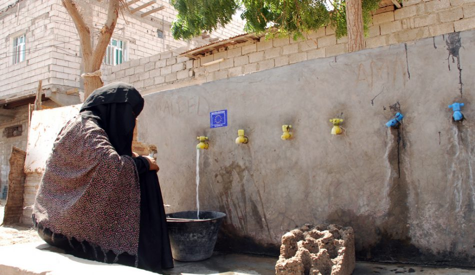 Drinkable water Yemen