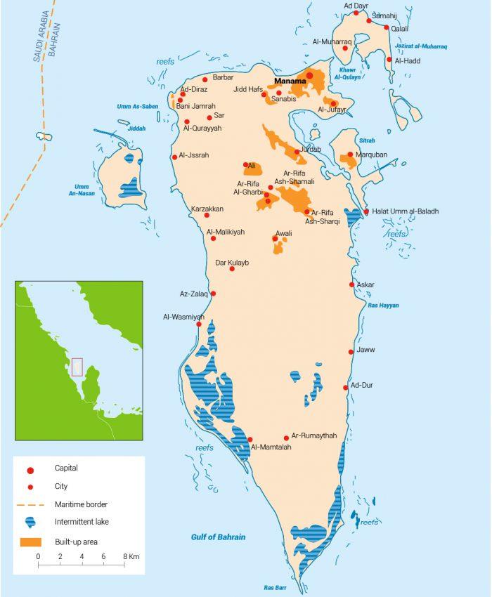 المياه في البحرين