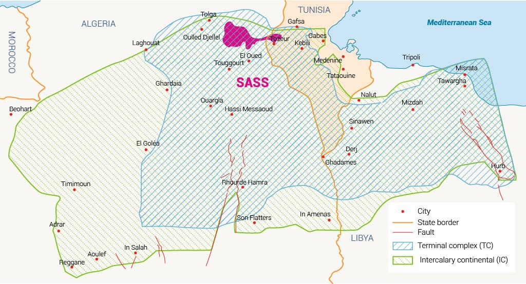 الموارد المائية المشتركة في تونس